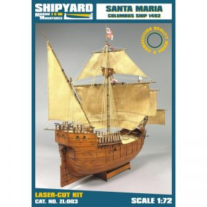 Santa Maria 1492 Maquette à construire - Shipyard (ZL003)