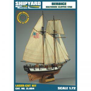 Berbice 1780 Maquette de Bateau à Construire - Shipyard (ZL004)