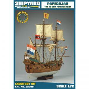 Papegojan 1627 Maquette à monter - Shipyard (ZL005)