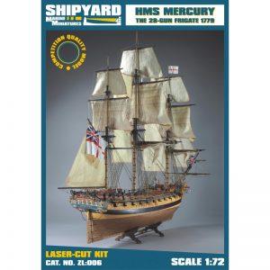 HMS Mercury 1779 Maquette à construire - Shipyard (ZL006)