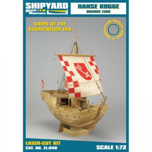 Hanse Kogge Bremen 1380 Maquette à monter - Shipyard (ZL048)